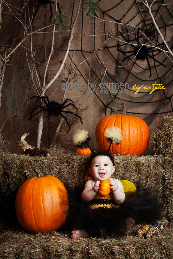 Halloween Portrait Photographer Miami Baby Sophia Baby