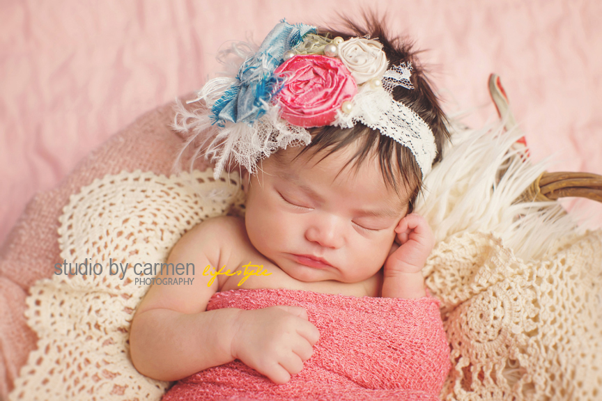 Kendall miami newborn photography